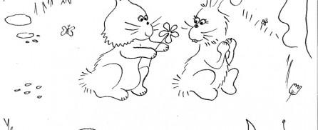 kleurplaat-konijnen